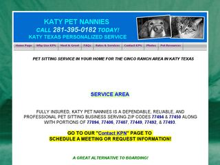 Katy Pet Nannies | Boarding