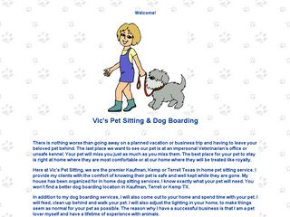 Vics Pet Sitting & Dog Boarding | Boarding