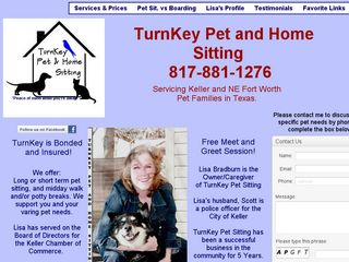 Turnkey Pet and Home Sitting Keller