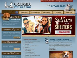 Creekside Pet Care Center | Boarding