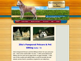 Zitas Pampered Petsitting Keller