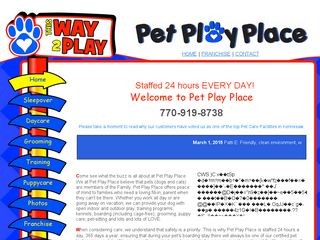 Pet Play Place | Boarding