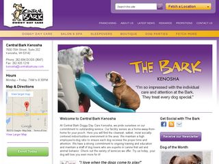 Central Bark Doggy Day Care Kenosah | Boarding
