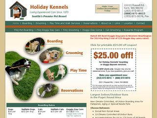 Holiday Kennels | Boarding