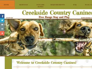Creekside Country Canines | Boarding