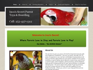 Incas Secret Parrot Toys Supplies   Boa | Boarding