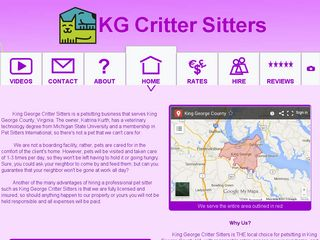 Critter Sitters King George | Boarding