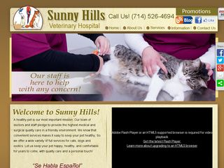 Sunny Hills Veterinary Hospital | Boarding