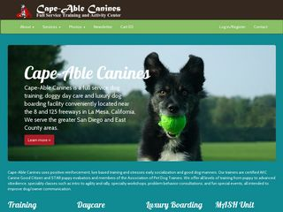 Cape Able Canines | Boarding
