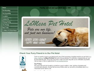 Photo of La Mesa Pet Hotel in La Mesa