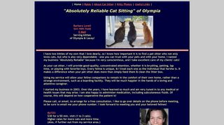Absolutely Reliable Cat Sitting | Boarding