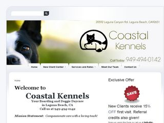 Coastal Kennels | Boarding