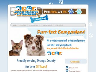 Animal Crackers Pet Sitting Laguna Niguel