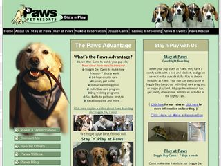 Paws Pet Resort | Boarding