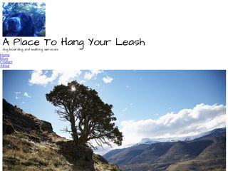 A Place To Hang Your Leash | Boarding