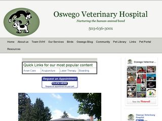 Oswego Veterinary Hospital Lake Oswego