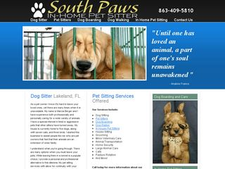 Photo of Southpaws Inhome Petsitter in Lakeland