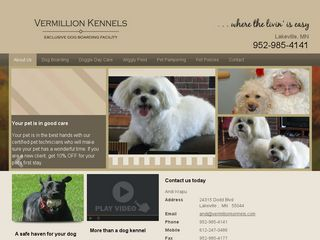 Vermillion Kennels | Boarding