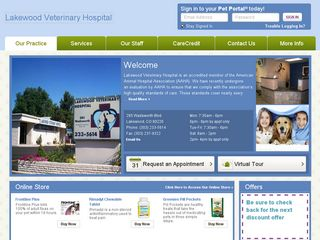 Lakewood Veterinary Hospital | Boarding