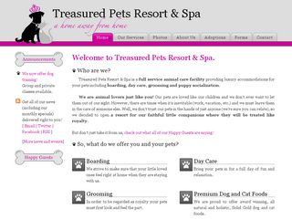 Treasured Pets Resort   Spa Land O Lakes