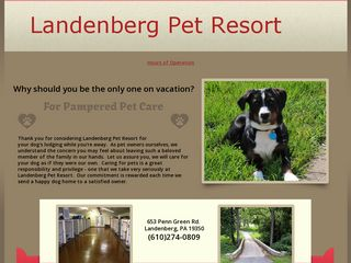 Landenberg Pet Resort Landenberg