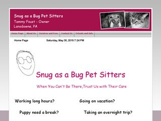 Snug as a Bug Pet Sitters | Boarding