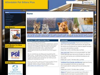 Affordable Pet Sitters Plus | Boarding