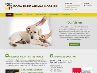 Animal Hospital at Boca Park Incorporated Las Vegas