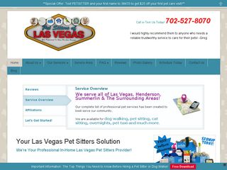 Pet Sitters of Las Vegas | Boarding