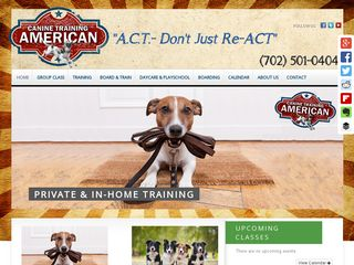 American Canine Training | Boarding