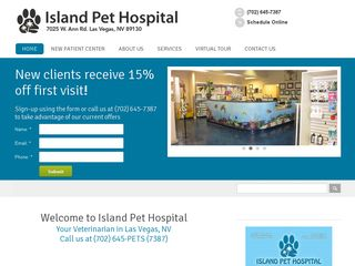 Photo of Island Pet Hospital in Las Vegas