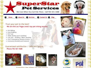 Superstar Pet Services | Boarding