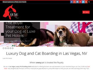 Luxe Pet Hotels Las Vegas