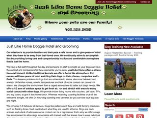 Just Like Home Doggie Hotel and Grooming | Boarding