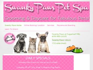 Swanky Paws Pet Spa | Boarding