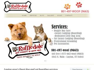 Ruffledale Pet Resort Layton