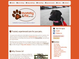 Mommy and Me Pet Care | Boarding