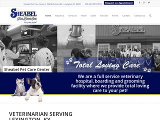 Sheabel Pet Care Center Lexington