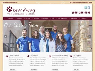 Broadway Veterinary Clinic | Boarding