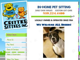Critter Sitters Lexington | Boarding