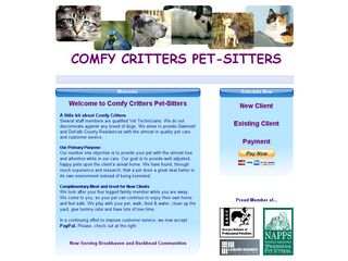 Comfy Critters Pet Sitters | Boarding