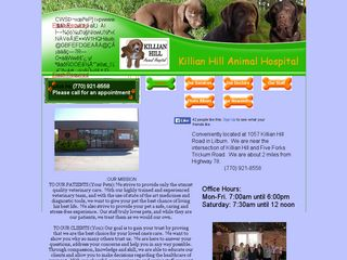 Killian Hill Animal Hospital Lilburn