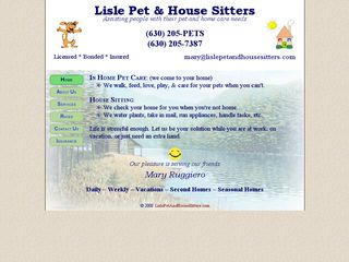 Lisle Pet House Sitters | Boarding