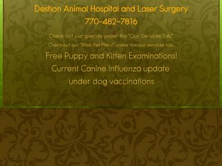 Deshon Animal Hospital | Boarding