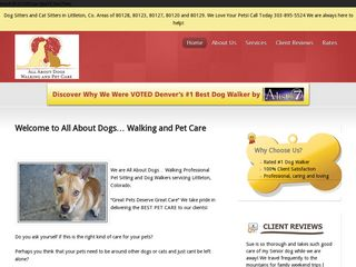 All About Dogs...Walking and Pet Care Littleton