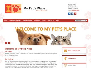 My Pets Place | Boarding