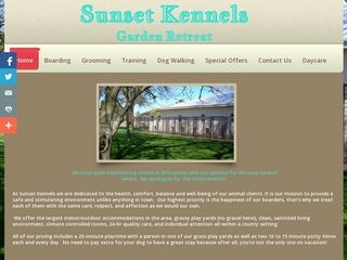 Sunset Kennels Garden Retreat | Boarding