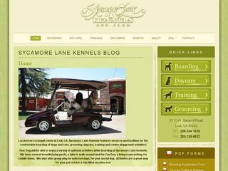 Sycamore Lane Kennels | Boarding