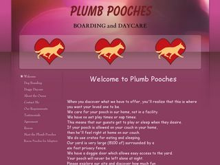 Plumb Pooches Boarding and Daycare | Boarding