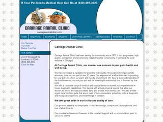 Carriage Animal Clinic | Boarding
